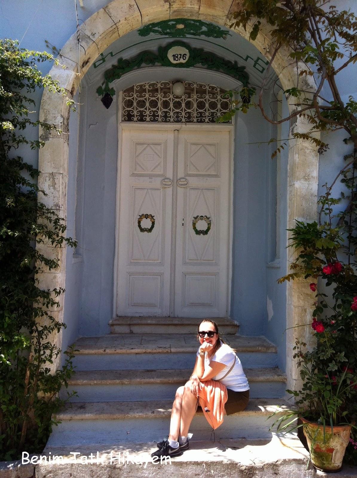 bozcaada kapıları, evleri