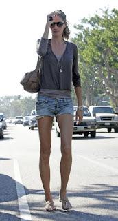 street style gisele bundchen short