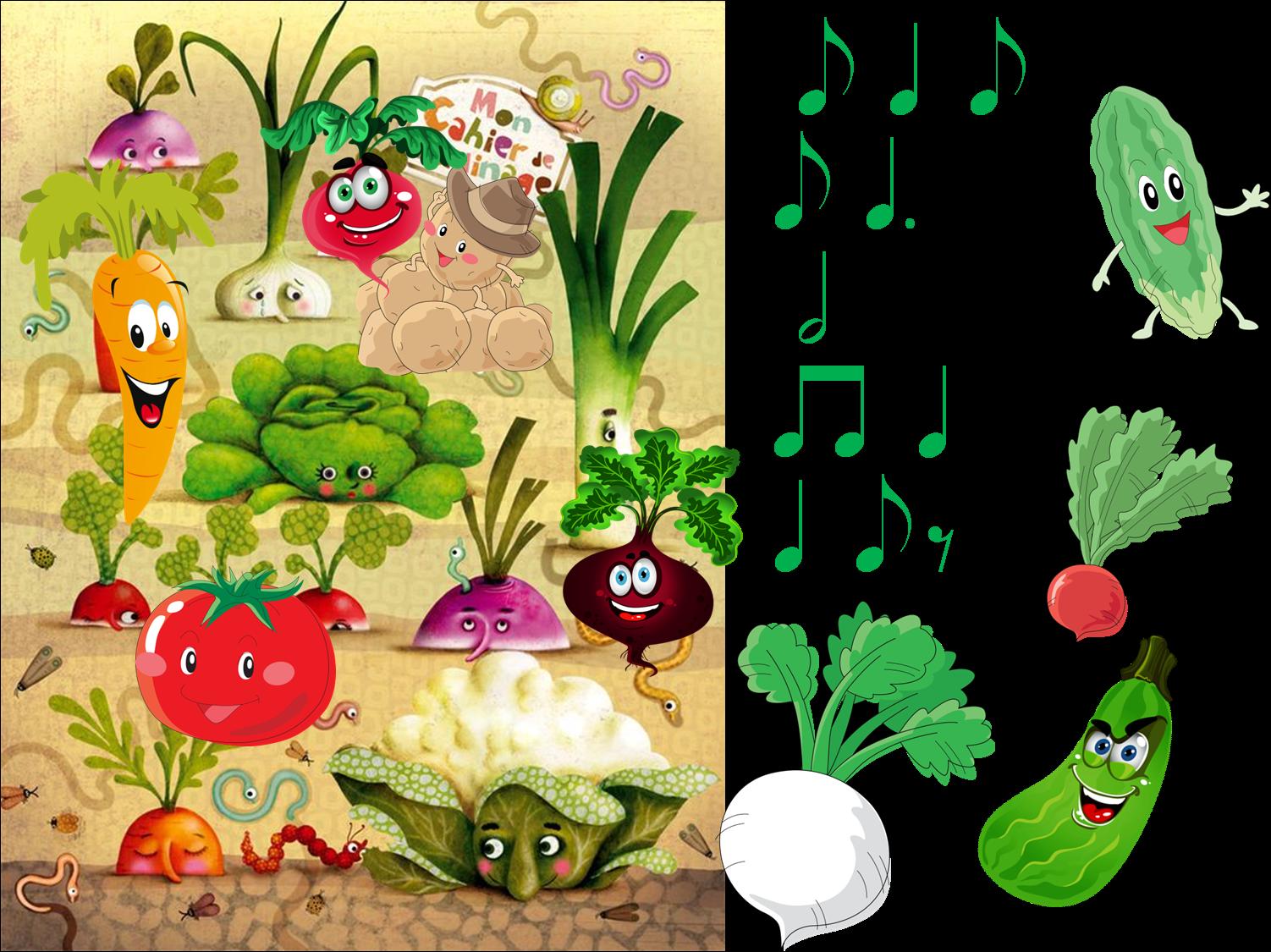 овощи на грядке картинка для детей