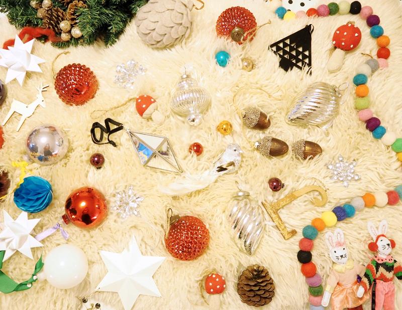 Christmas tree decorations from HomeSense