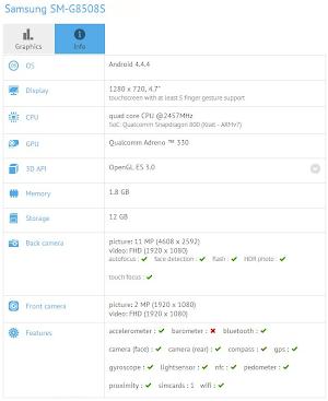 Samsung SM-G8508S