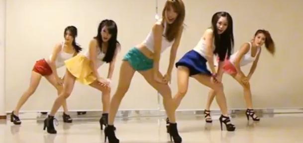 Probuzzer super hot quot gangnam style quot cover by korean dancers
