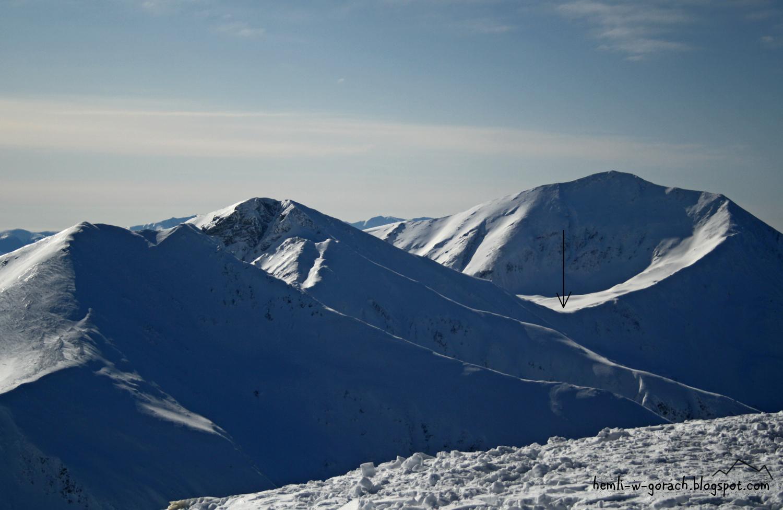 Widok na Pyszniańską Przełęcz z Ciemniaka