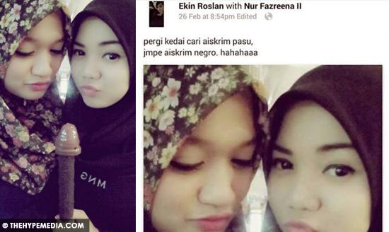2 Gadis Remaja Temui Aiskrim Negro Viral Di Laman Sosial