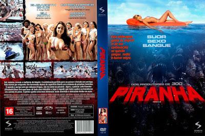 Filme Piranha 2010 DVD Capa