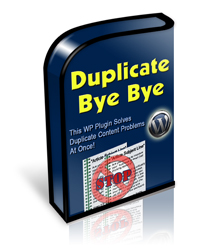 Duplicate Bye Bye WordPress Plugin Box