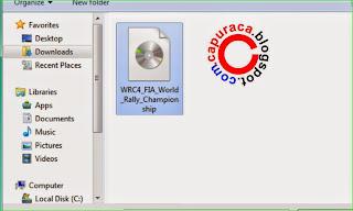 Cara buka file ISO,membuka file iso,