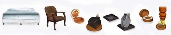 How To Stop Furniture Sliding On Hardwood and Tile Floors  : stopfurniturefromrollingcastercupspic from stopfurnituresliding.blogspot.co.uk size 550 x 114 jpeg 10kB