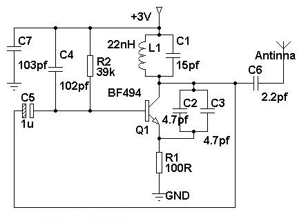 Simple Mobile Phone Jammer Circuit on tv transmitter circuit diagram