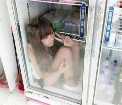 Gaya Foto Dalam Kulkas Yang Lagi Ngetrend di China