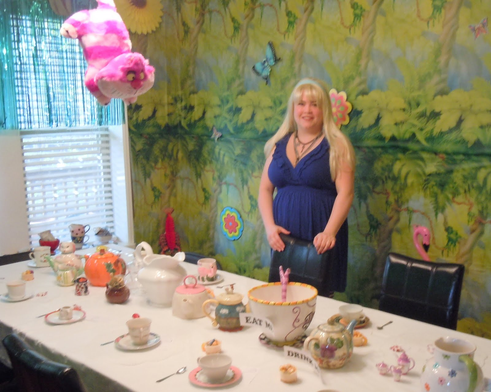 Cooking And Entertaining With Leah Mad Hatter Tea Party