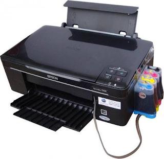 Cara Merawat Dan Memperbaiki Printer Yang Menggunakan Infus