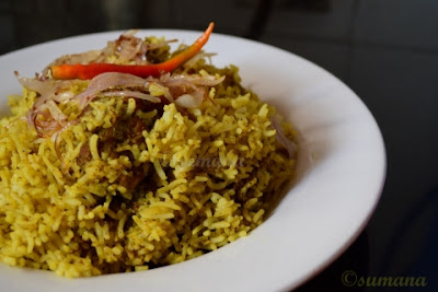easy steps to cook, Chicken Pulao, chicken polau, easysteps2cook