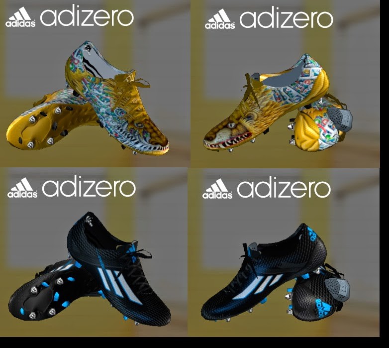 PES 2013 Adizero Pack by SGangster
