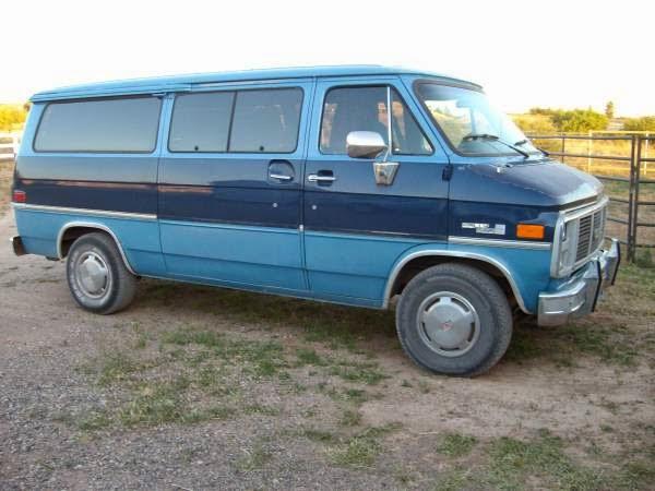 1996 gmc rally van