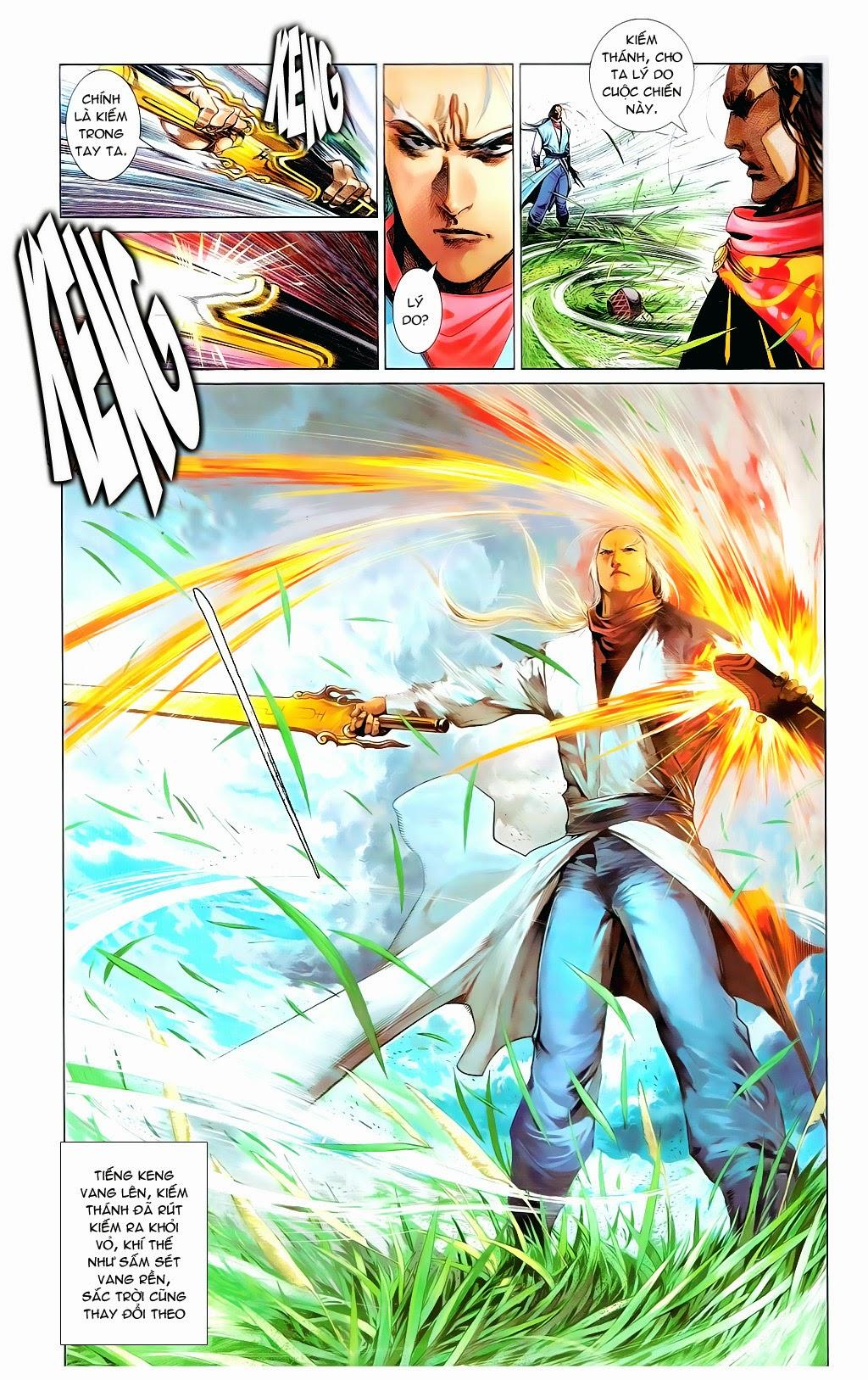 Phong Vân Chap 665 - Trang 14