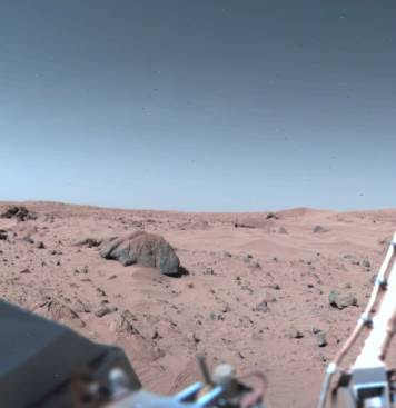 Extrañas fotografías de Marte