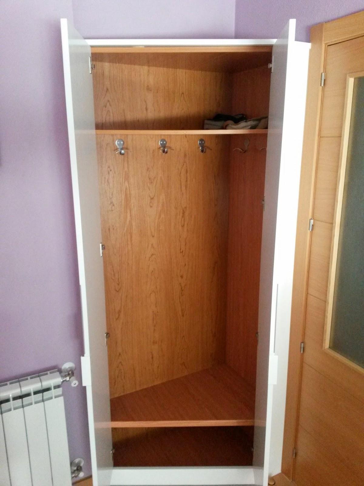 Muebles a medida armario ropero en forma de esquina - Armarios de esquina ...