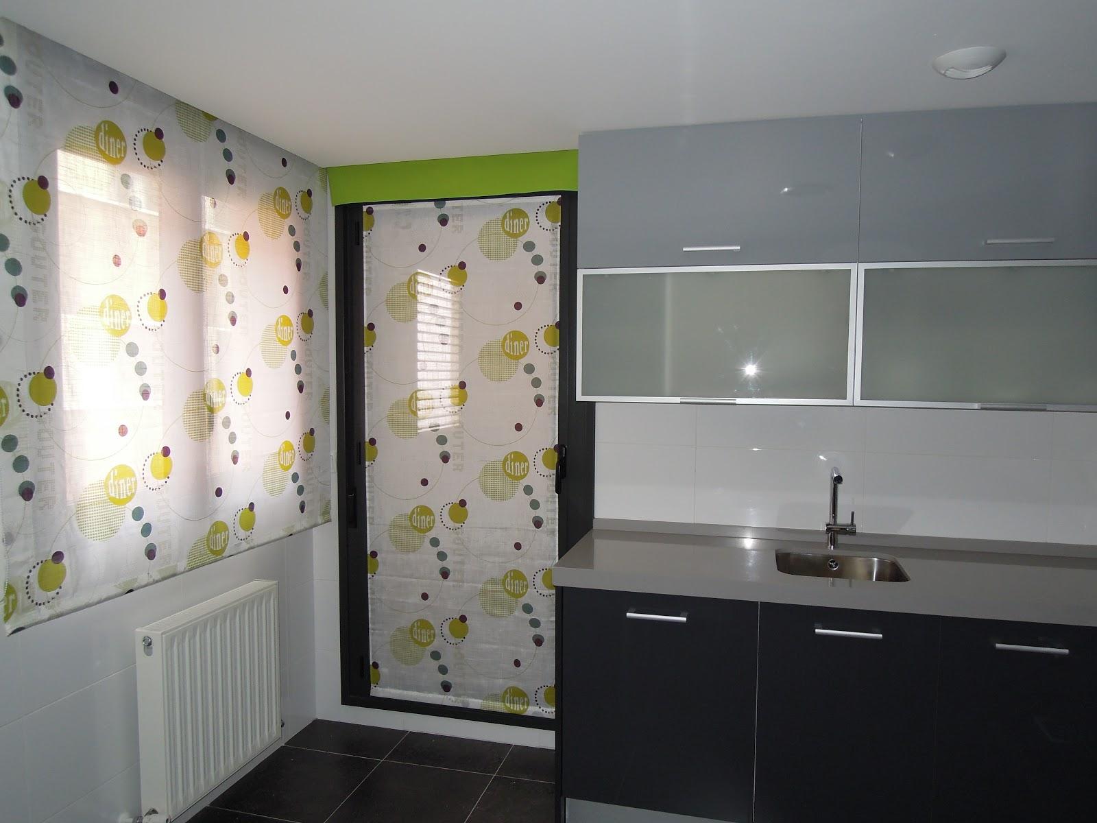 Fotos de cortinas cocina 2013 - Estores con caidas ...