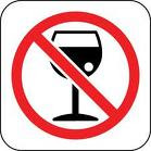!No al alcohol!