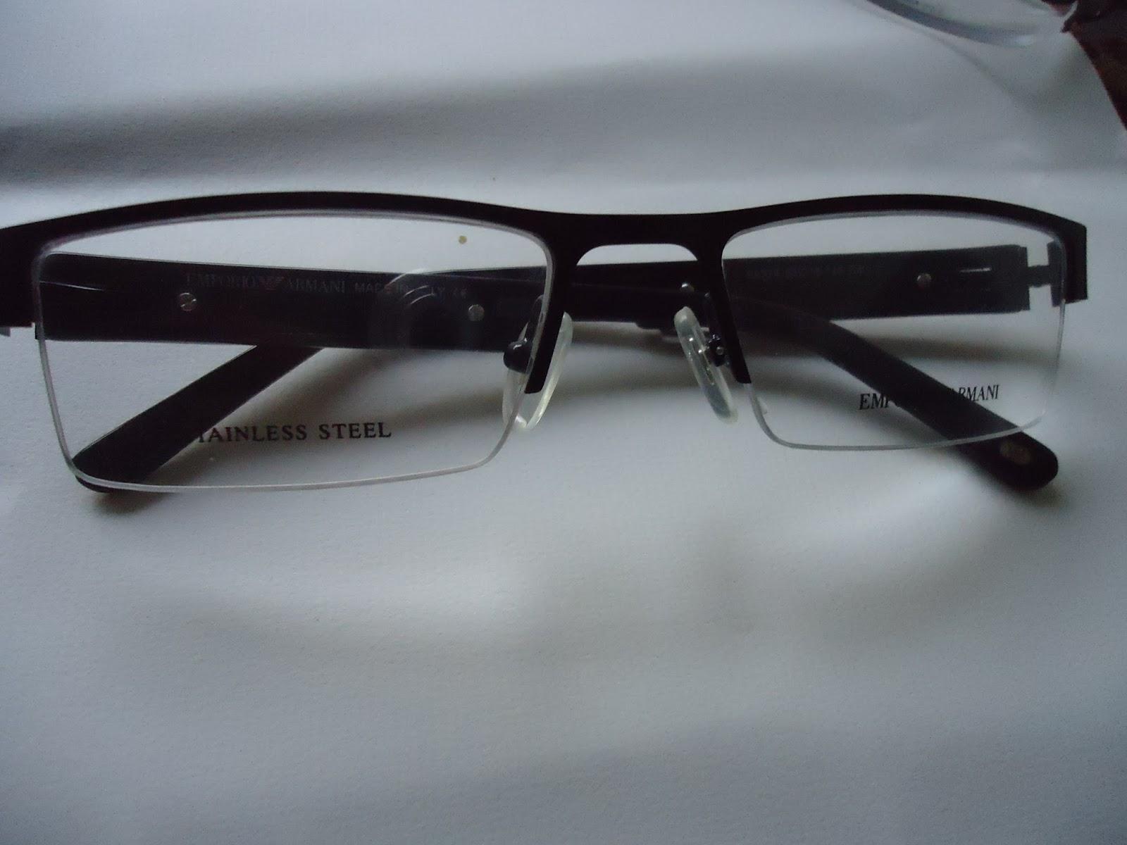 Rimless Glasses Armani : Buy Frames, Sunglasses,Contact lenses : GIORGIO ARMANI ...