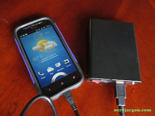 18650 Lithium-ion Based Battery Pack, Charging HTC One