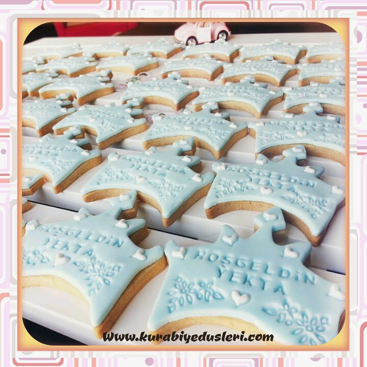 Yenidoğan bebek kurabiyeleri