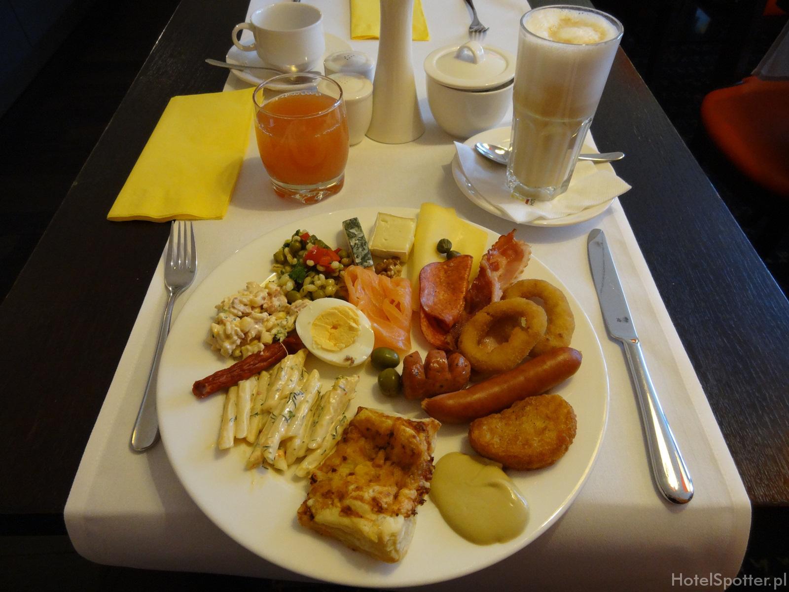 angelo Hotel Katowice - obfite sniadanie
