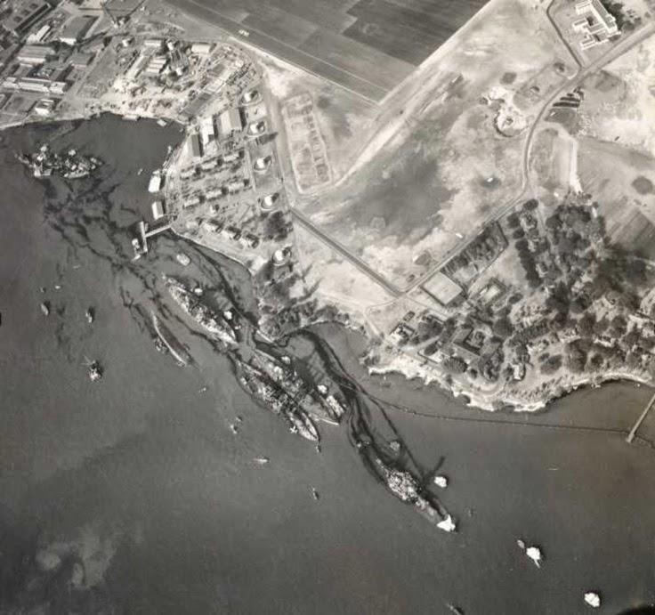 Pearl Harbor bombed