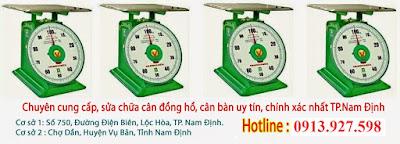 chuyên sửa chữa cân đồng hồ điện tử tại Nam Định