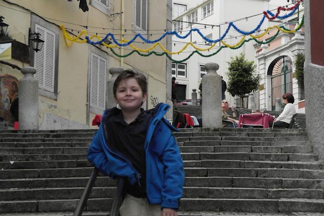Bairro Alto, Baixa and Chiado steps down