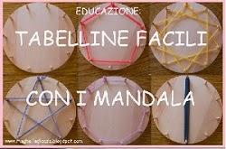 IMPARARE LE TABELLINE CON I MANDALA