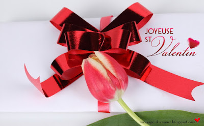 lettre pour la saint valentin