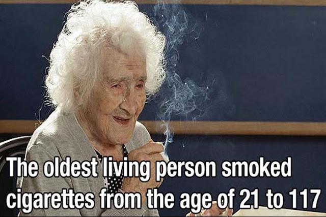 Oldest Living Smoker