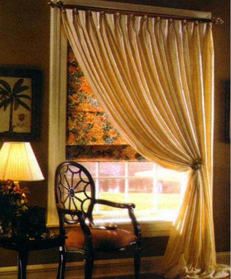 Inspira o e divers o cortinas um encanto a mais for Cortinas salon rustico