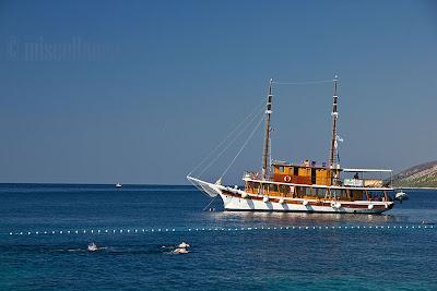 Yacht lemn