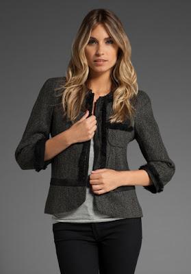 Wardrobe staple - tweed jacket