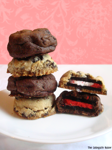 Candy Cane Oreo Chocolate Chunk Cookies Recipes — Dishmaps