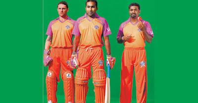 IPL Kochi Team - Kochi Tuskers Jersey