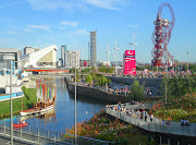 Went to the Olympic Park yesterday. Futuristic environment and impressive . (jubilympics )