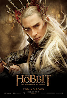 The Hobbit: The Desolation of Smaug - Thranduil  Character Poster Lee Pace