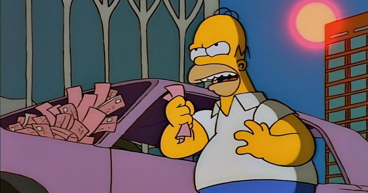 Jovem jornalista a cidade de nova york vs homer simpson - Homer simpson tout nu ...
