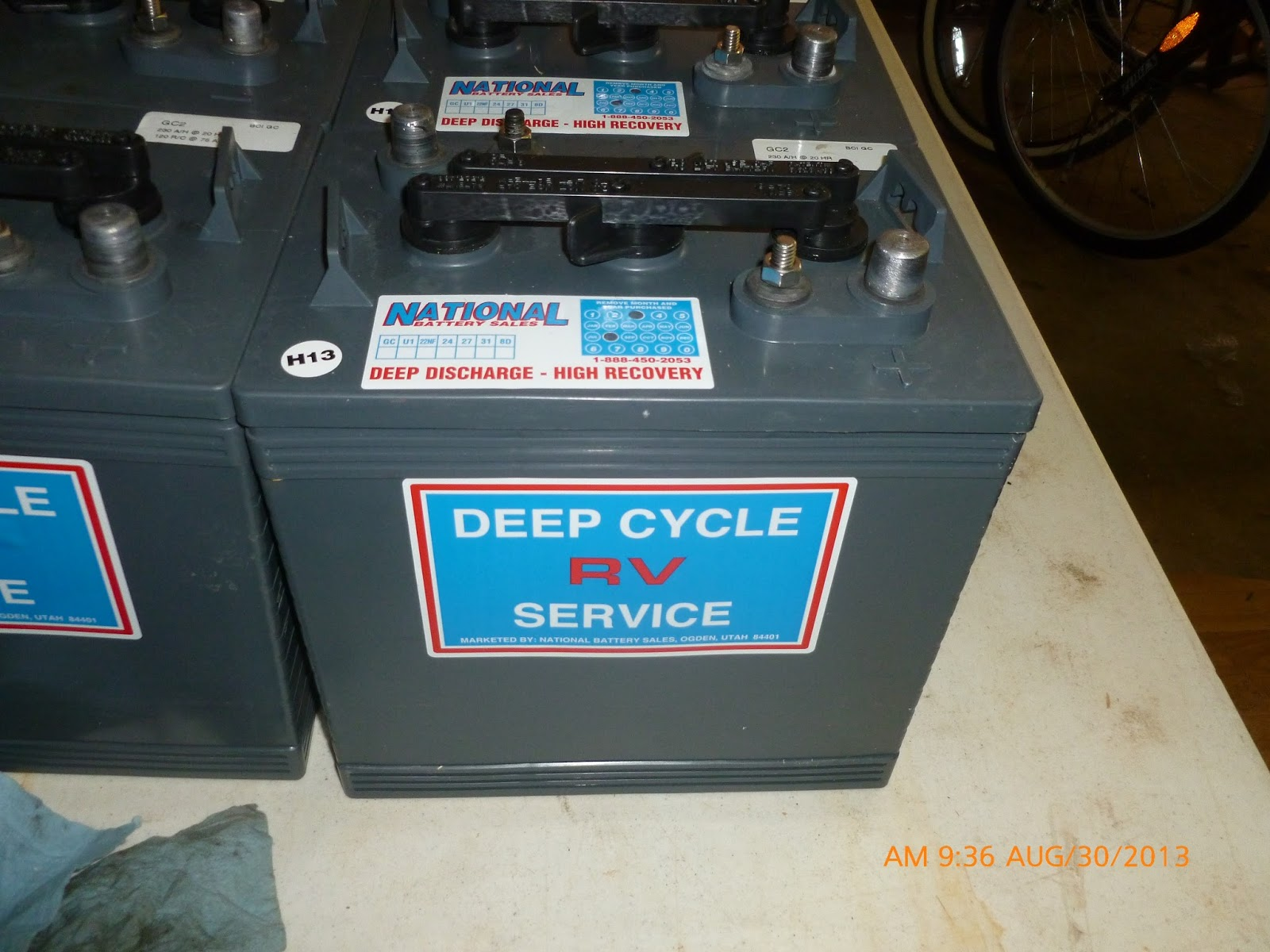 Solar System For Rv Battery Box : Papas travels my new solar system batteries and vented box