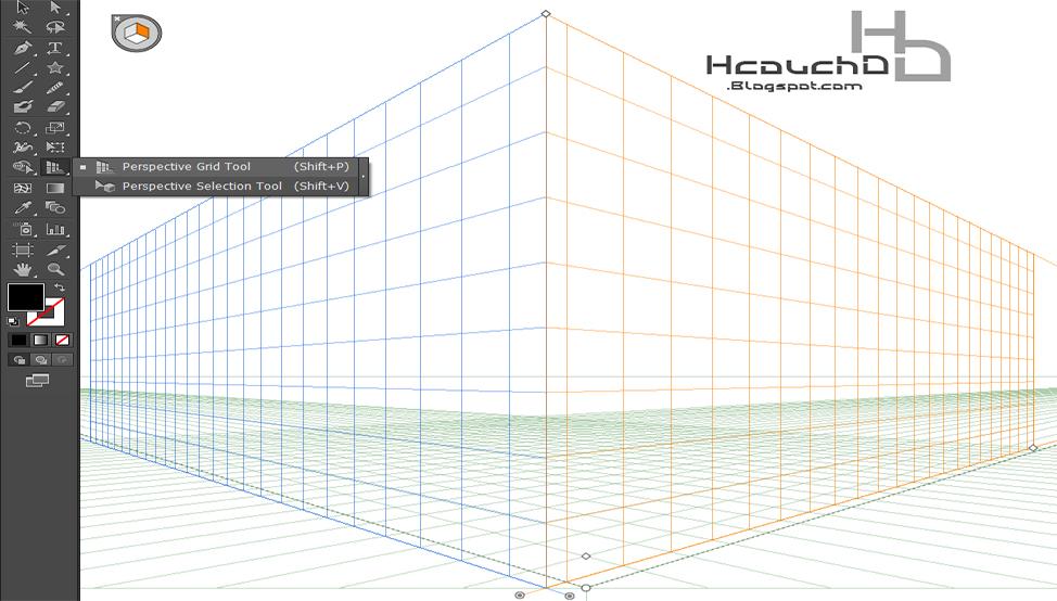 ✯ - الرسم باستخدام الشبكة أو Grid :