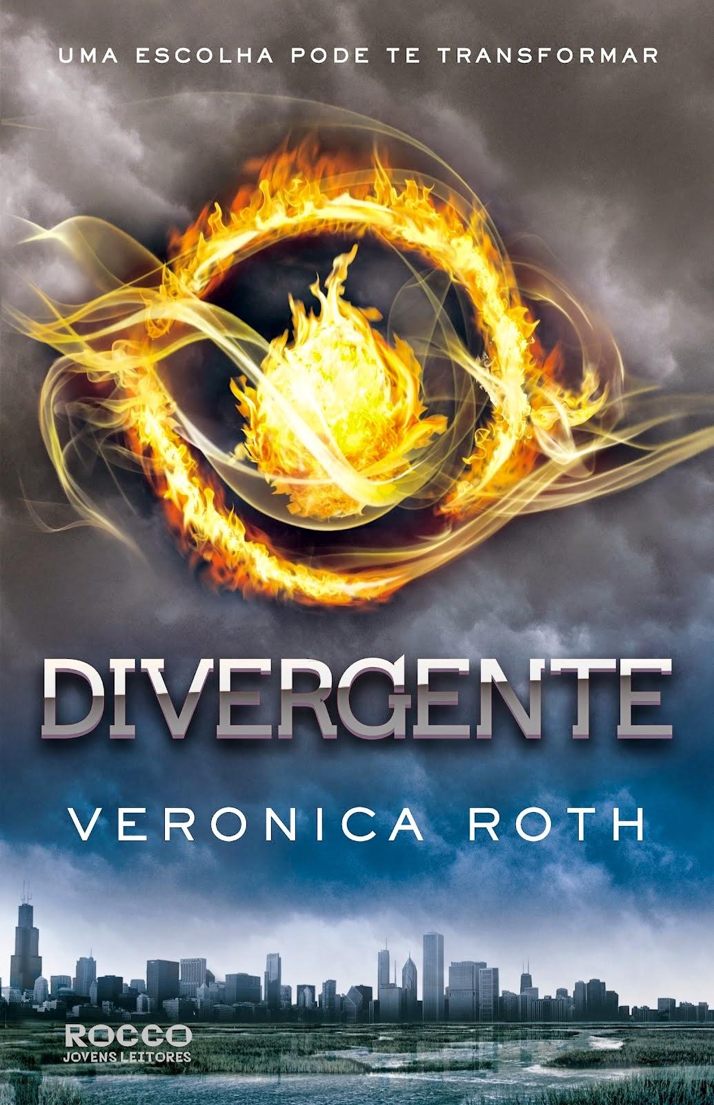 Resenha Favorita: Divergente - Livro 1 - Veronica Roth