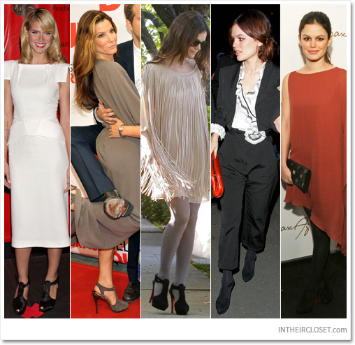 Celebrity In Christian Louboutin