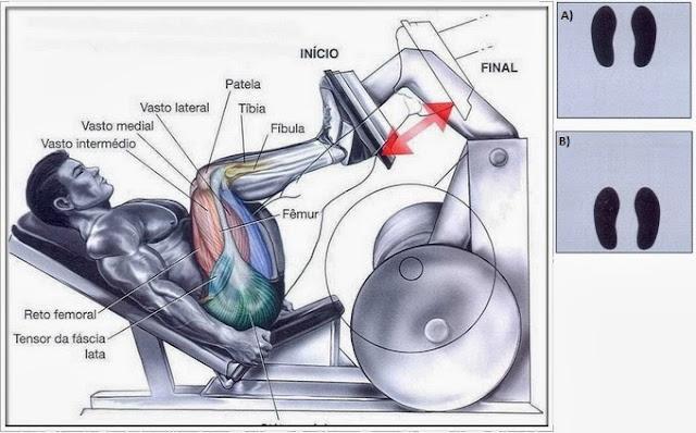 Marcelo ferreira posterior de coxa no leg press for Exercicio para interno de coxa