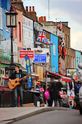 Insegne a Camden Town