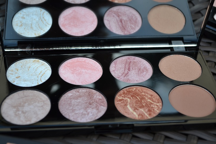 makeup revolution contour and blush palette