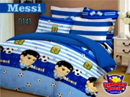 SPREI MESSI, BEDCOVER MESSI